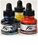 FW Daler Rowney ink, 180 ml