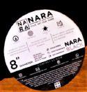 Nara sort papir, runde